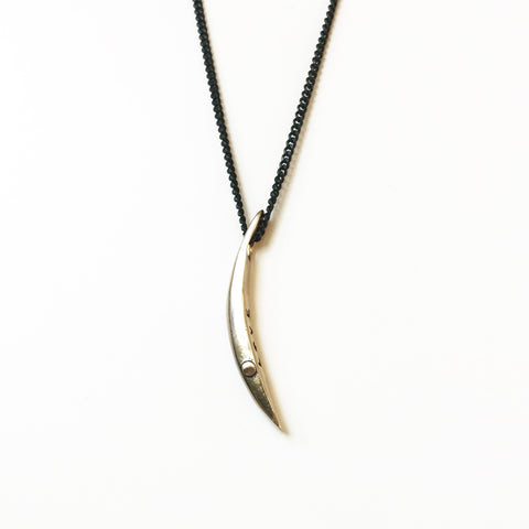 Sliver of a Crescent Moon - Love - Bronze