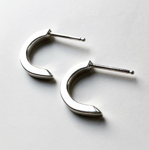 Curve Earring - silver