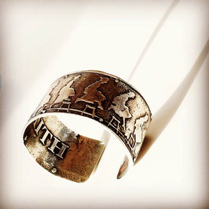 Leap of Faith - bronze cuff