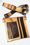 RacerX Road Bag - Natural, Brown & Orange