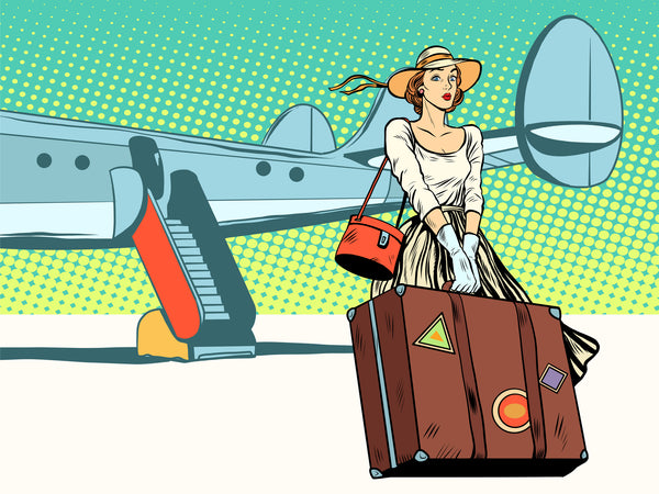 Travel alert for MEN:  Why women have to take so much luggage...