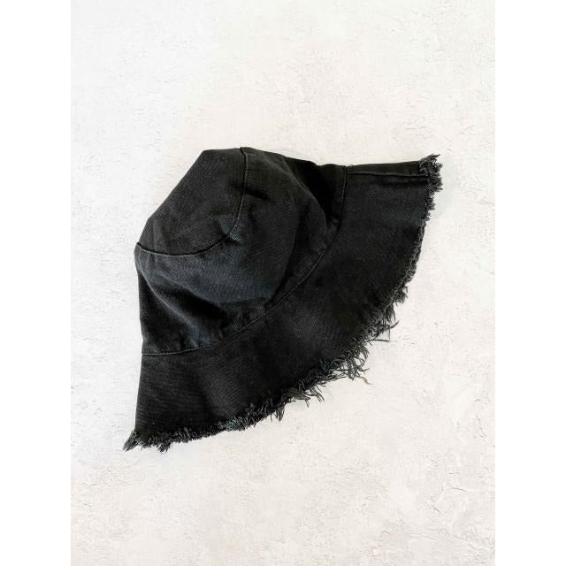 Frayed Bucket hat