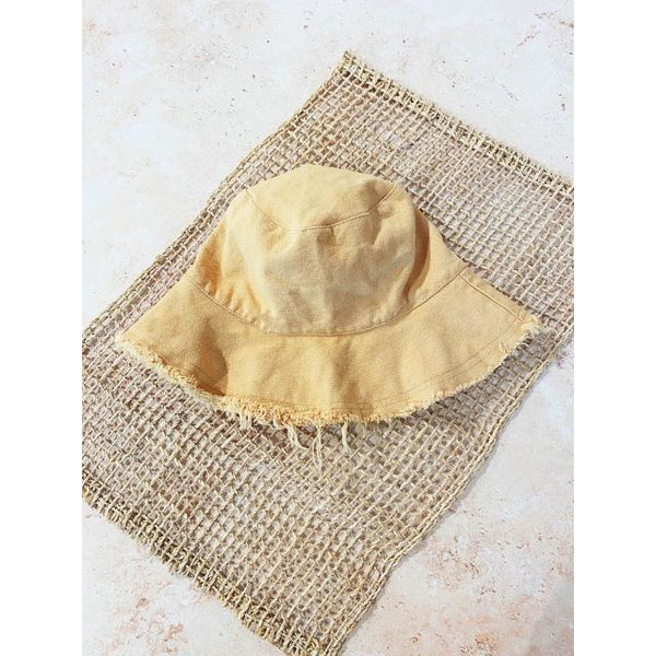 Frayed Bucket hat - Sarah Urban