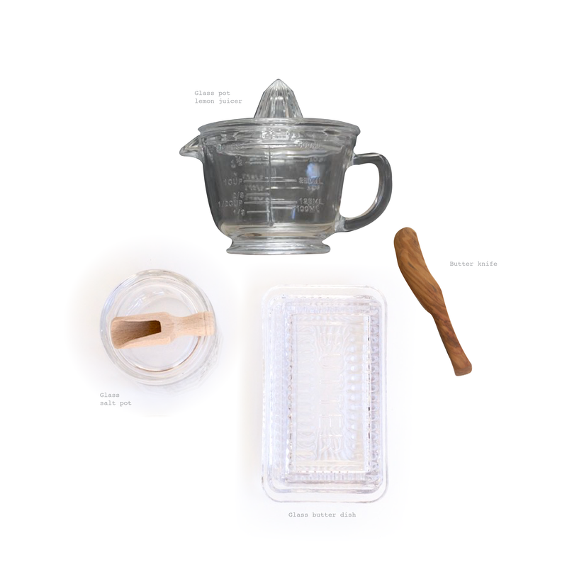 Glass Kitchen essentials - Sarah Urban