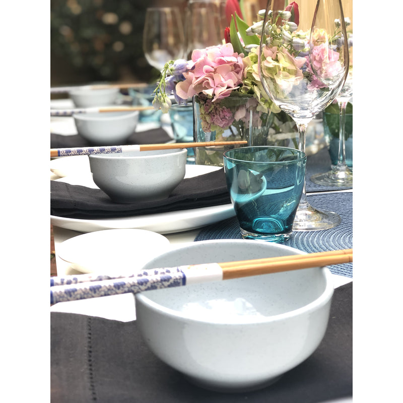 Japanese dinner setting for 8