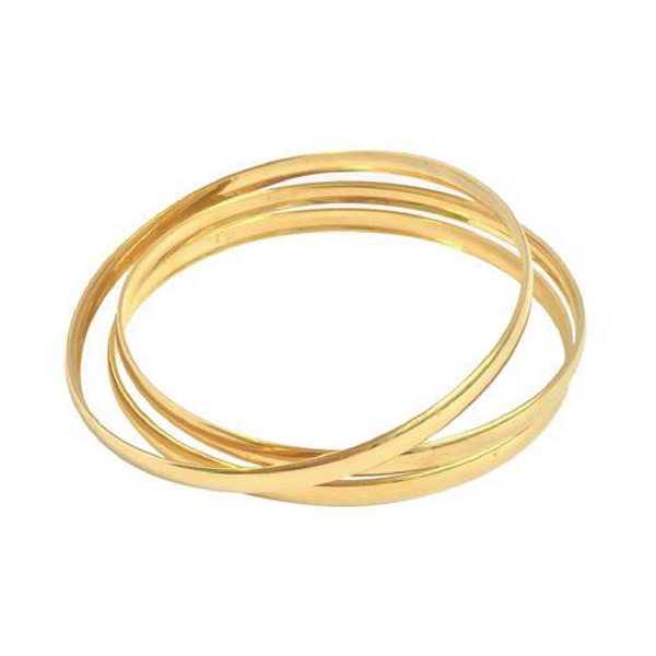 Gold Three bangle set - Sarah Urban