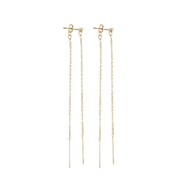Long line double earrings - Sarah Urban