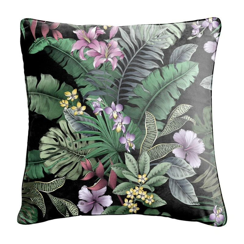 Night Tropics Cushion Indoor/Outdoor - Sarah Urban