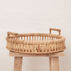 Rattan Tray - BACKORDER - Sarah Urban