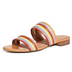 Summer colourful sandals