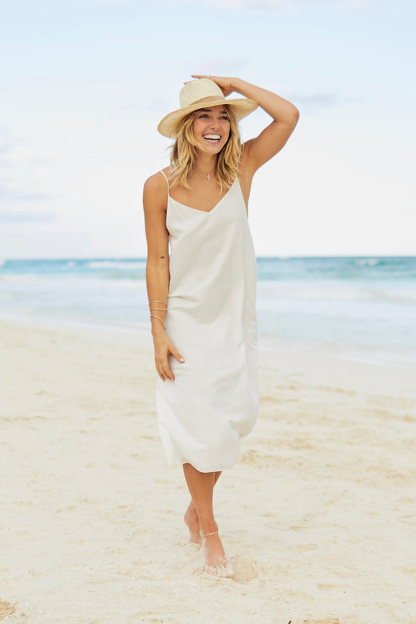 Breathe Long Slip Dress