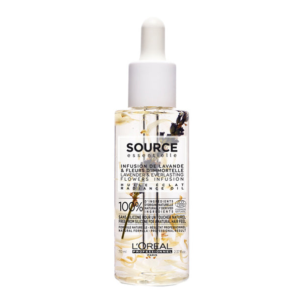 Spray Shine for Hair Source Essentielle Lavender & Jasmin L'Oreal Expert Professionnel (70 ml)