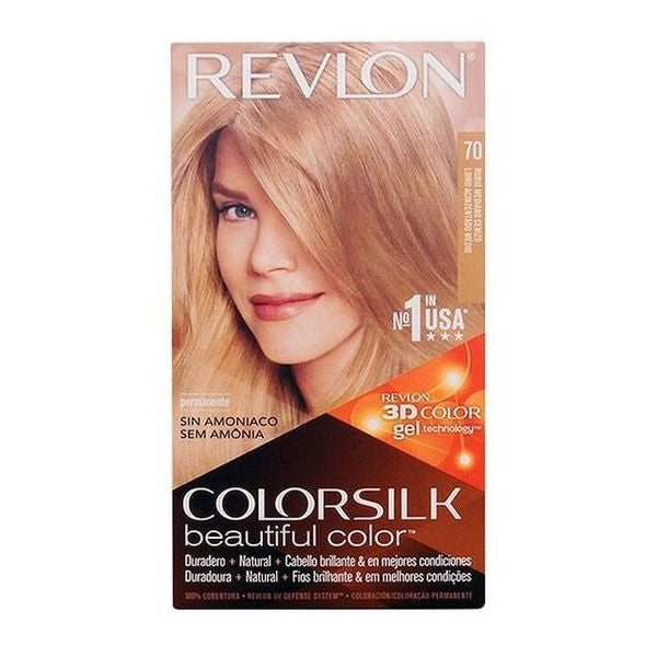 Dye No Ammonia Colorsilk Revlon Light ash blonde