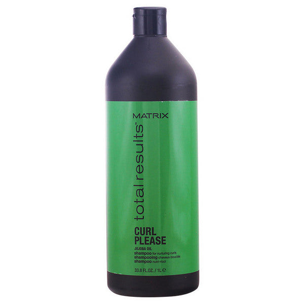 Moisturizing Shampoo Total Results Curl Please Matrix