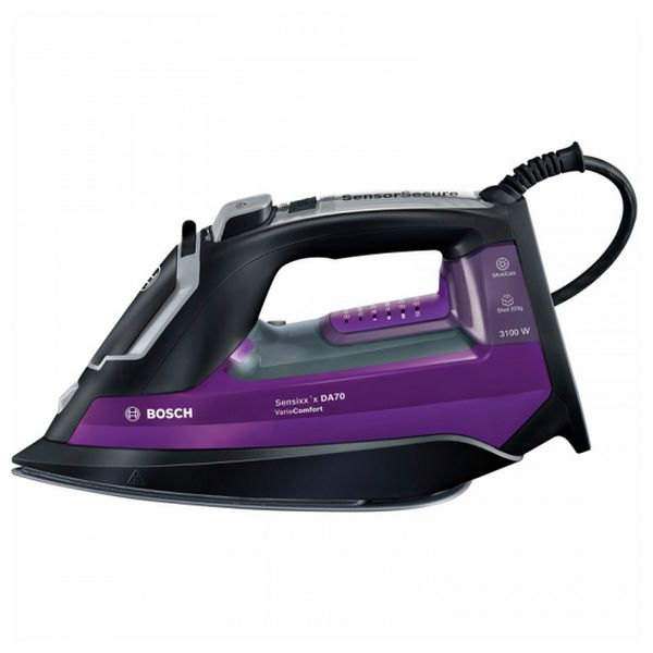 Steam Iron BOSCH TDA753122V 350 ml 50 g/min 3100W Black Purple