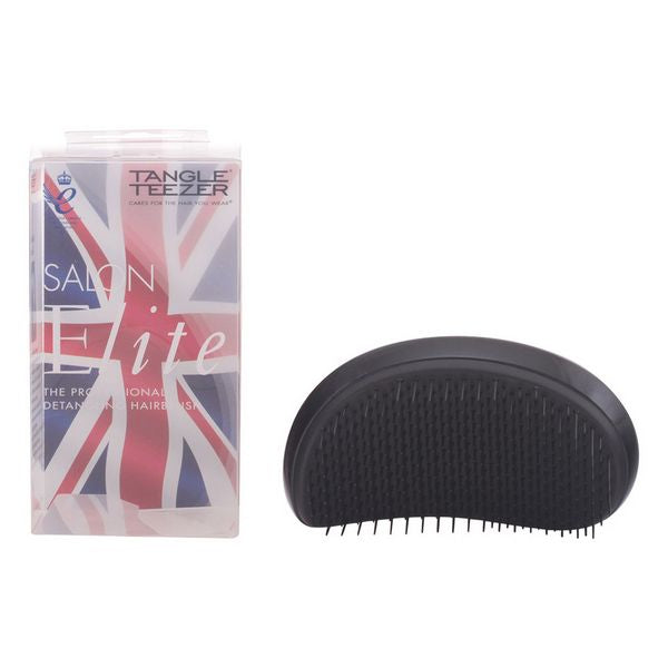 Detangling Hairbrush Salon Elite Tangle Teezer Black