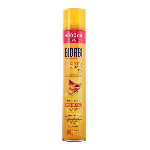 Anti-frizz Hairspray Elixir Fix Giorgi (400 ml)