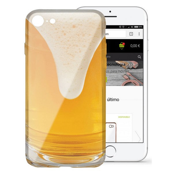 Mobile cover Iphone 7/8 KSIX Flex TPU Beer