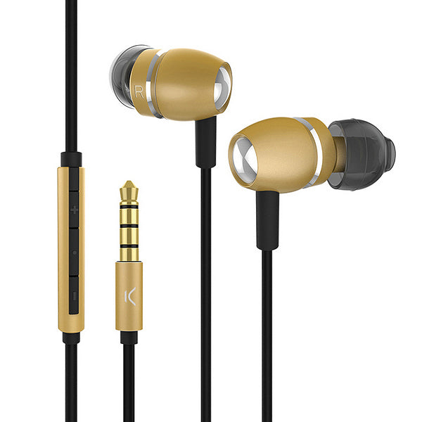 Headphones with Microphone KSIX Go & Play Sky Aluminium