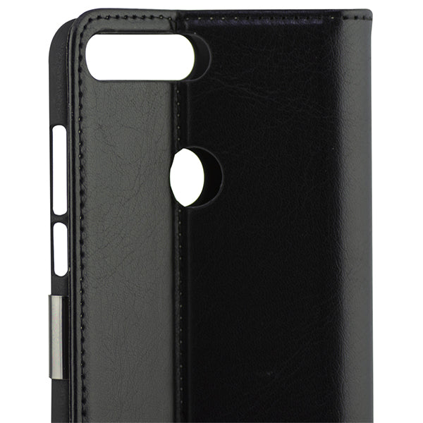 Folio Mobile Phone Case Huawei Y7 2018 KSIX Black