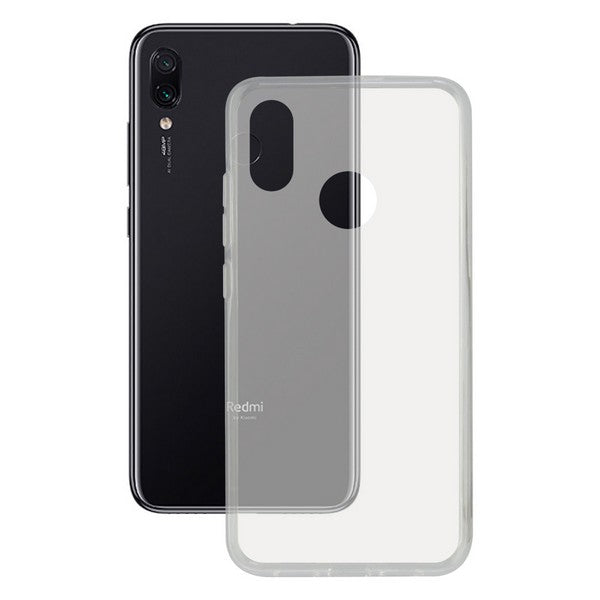 Mobile cover Xiaomi Redmi Note 7 KSIX Flex Transparent