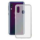 Mobile cover Galaxy A40 KSIX Flex Transparent