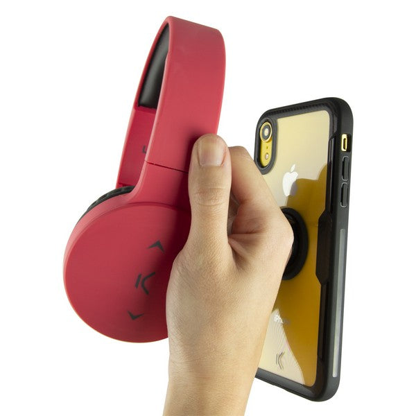 Housing with ring Iphone Xr KSIX Transparent