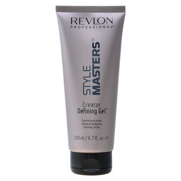 Medium hold fixing gel Style Masters Revlon