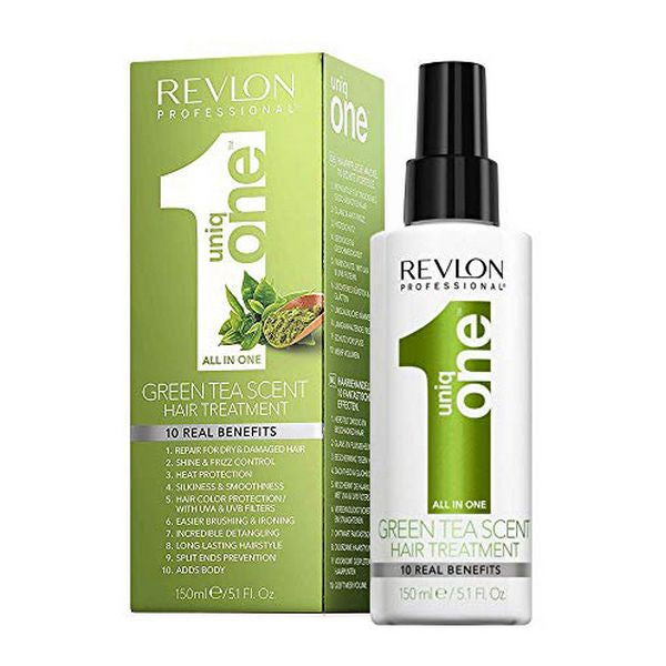 Protective Hair Treatment Uniq One Green Tea Revlon (150 ml)