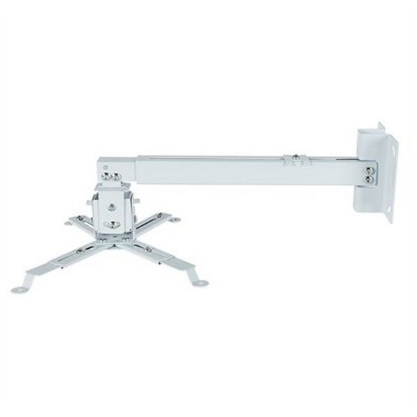 Tilt and Swivel Ceiling Mount for Projectors iggual STP02-L IGG314593 -22,5 - 22,5° -15 - 15° Aluminium White