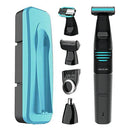 Cordless Hair Clippers Cecotec Bamba PrecisionCare Extreme 5in1 500 mAh Black