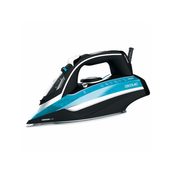 Steam Iron Cecotec 3D ForceAnodized 550 400 ml 3100W Black Blue