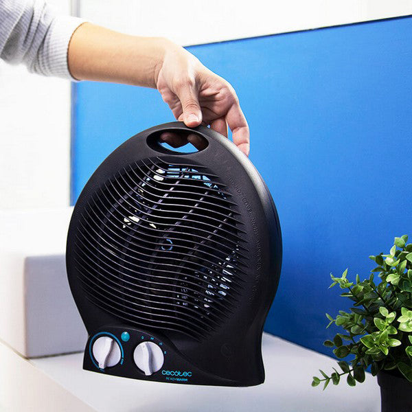 Portable Fan Heater Cecotec Ready Warm 9500 Force 2000W Black
