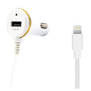 Car Charger Ref. 138215 USB Cable Lightning White