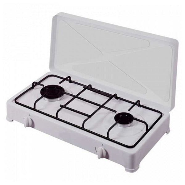 gas stove Vitrokitchen 200BN White (2 Stoves)