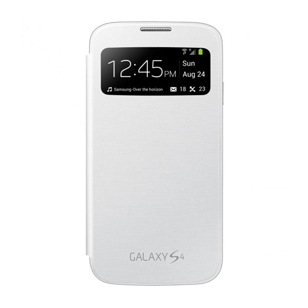 Folio Mobile Phone Case Samsung Galaxy S4 i9500 White