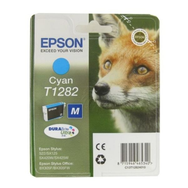 Original Ink Cartridge Epson C13T128240 Cyan