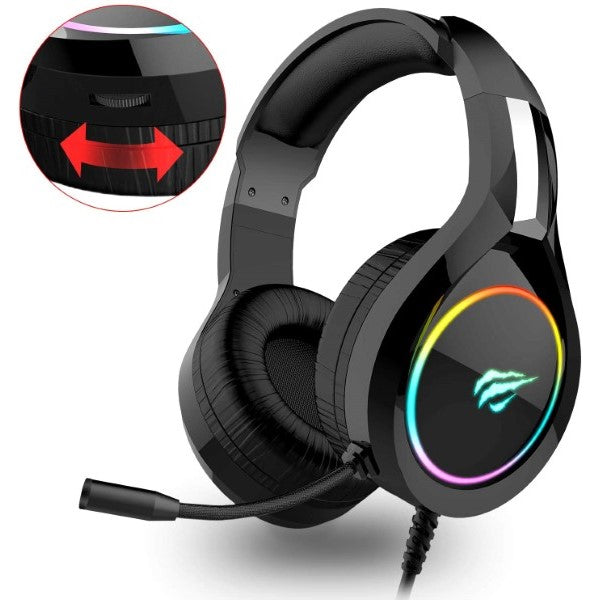 Gaming Headset with Microphone H2011d RGB Black (Refurbished A+)