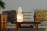 Selenite Towers Lamps 透石水晶燈塔 (20cm - 40cm)
