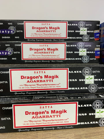 Satya Dragons Magik Incense 15g Pack