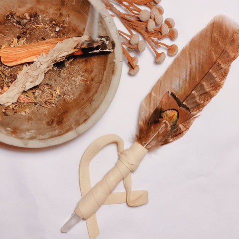 Natives Smudging Feather 印弟安族神聖羽毛