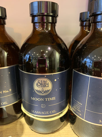 Star Child Moon Time Massage Oil 100ml