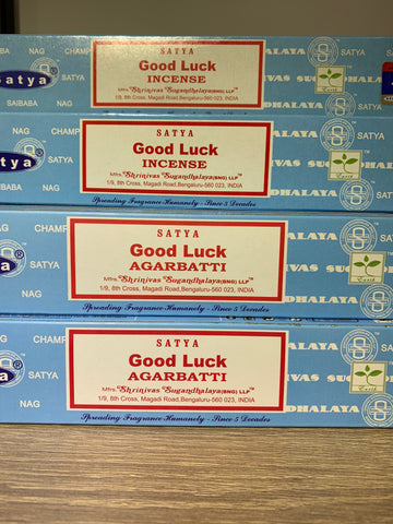 Satya Good Luck Incense 15g Pack