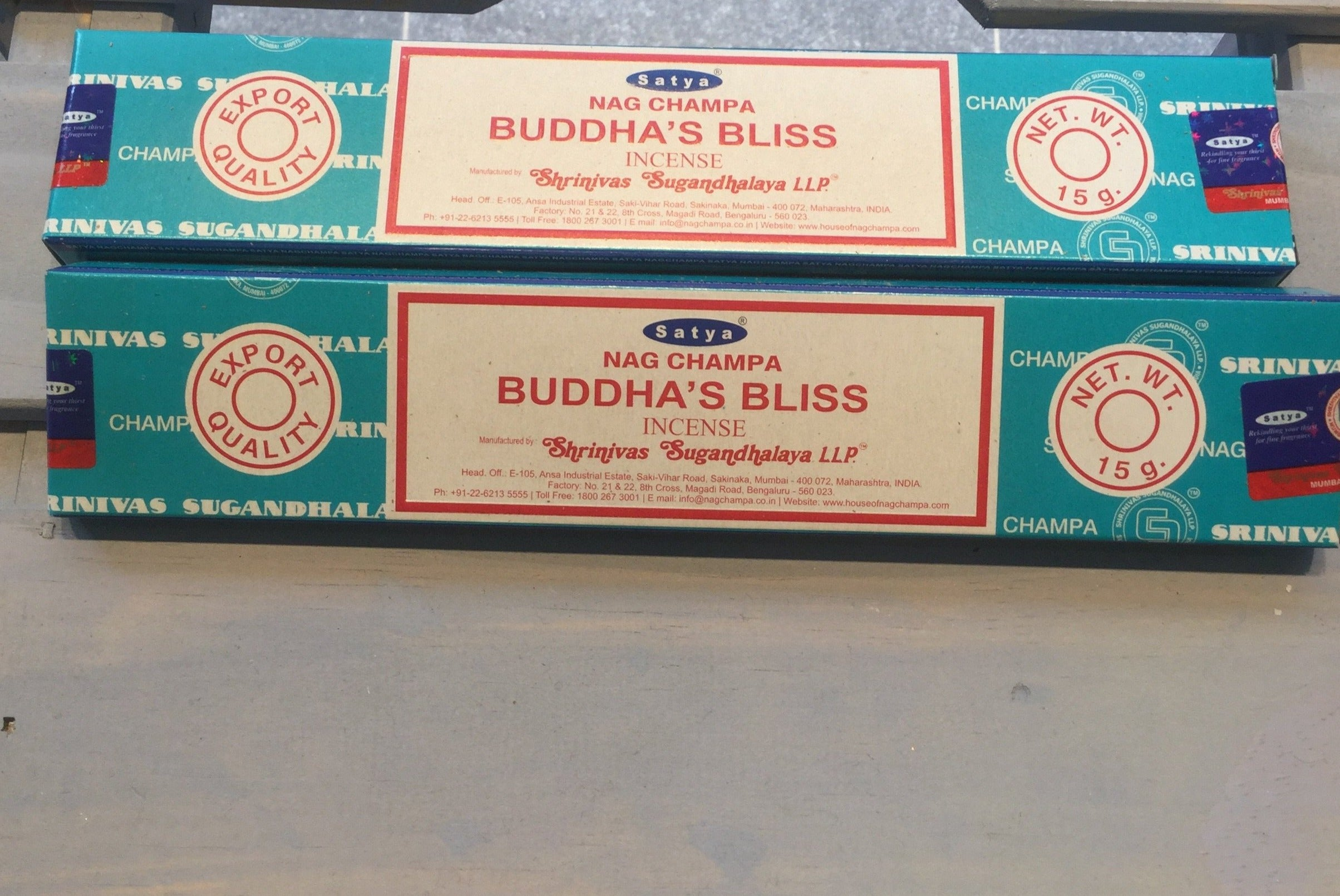 Satya Buddha's Bliss Incense 15g Pack
