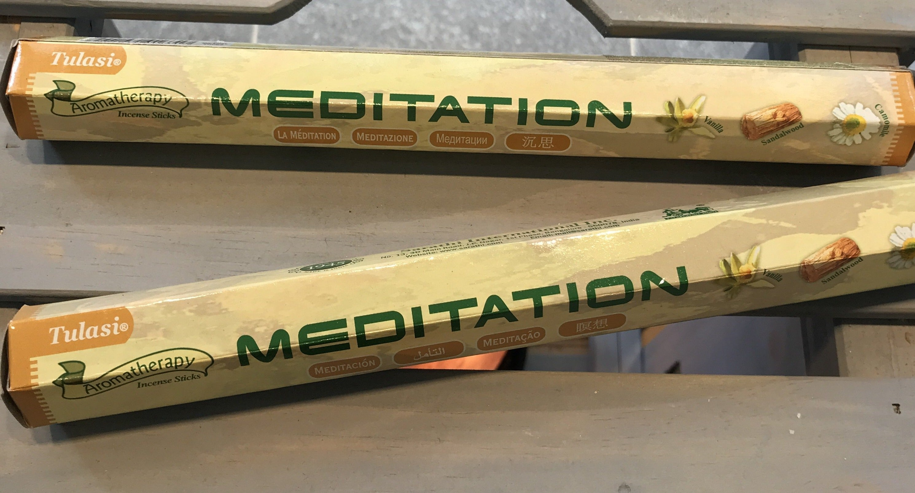 Tulasi Meditation (8 / 20 sticks)