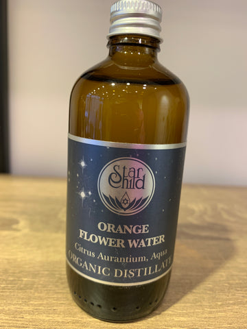 Star Child Orange Flower Water Organic 100ml