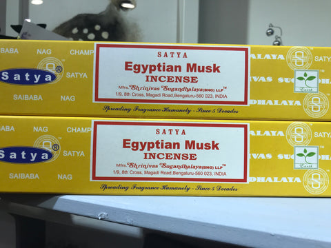 Satya Egyptian Musk Incense 15g Pack