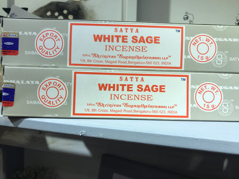 Satya White Sage Incense 15g Pack