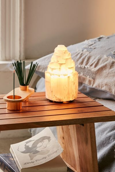 Selenite Tower Spiral Lamp (15cm - 40cm)