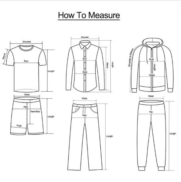 Polo Sizing diagram